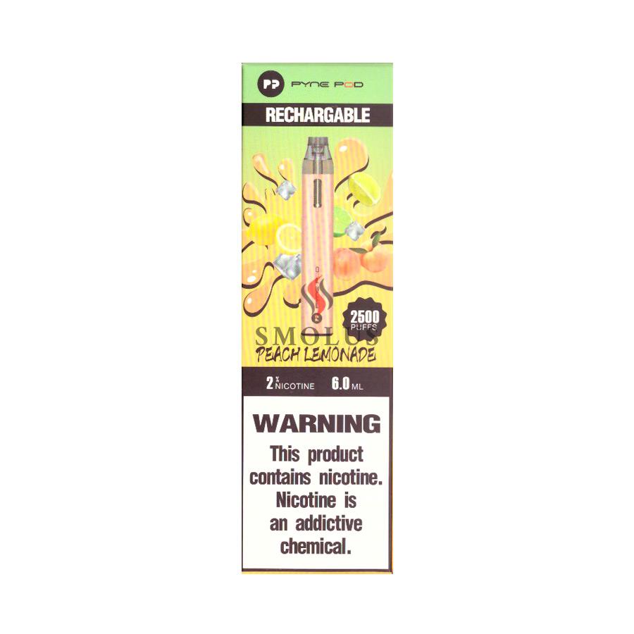 одноразовая электронная сигарета puff pyne pod 2500 затяжек